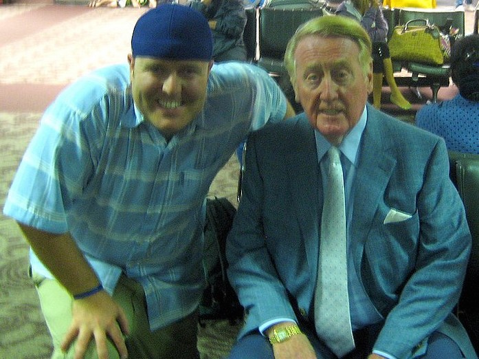 A Dodger fan with Vin Scully.jpg